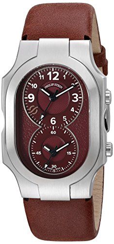 Philip Stein Unisex 200-WLBG-CVMN Swiss Signature Analog Display Swiss Quartz Red Watch