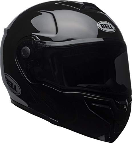 Bell SRT Modular Street Motorcycle Helmet(Gloss Black, X-Large)