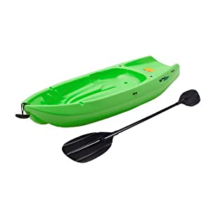 90477 Lifetime Youth Wave Kayak with Paddle, 6-Feet, Lime Green from Lifetime