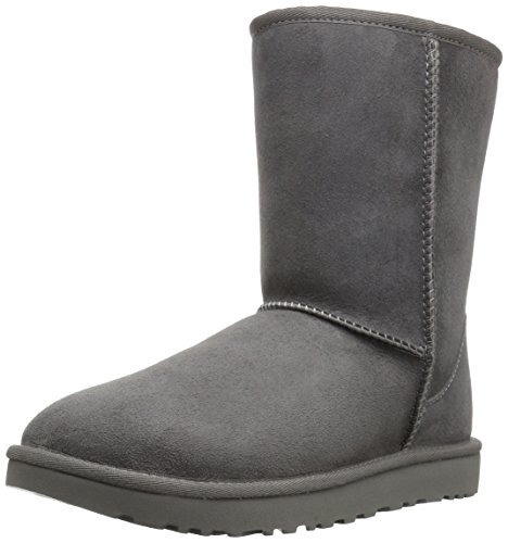 UGG Women's Classic Short II Winter Boot, Grey, 6 B, used for sale  Delivered anywhere in USA