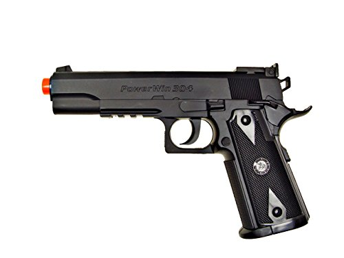 - 500 FPS NEW WG AIRSOFT 1911 NON BLOWBACK GAS CO2 HAND GUN PISTOL w/ 6mm BB BBs