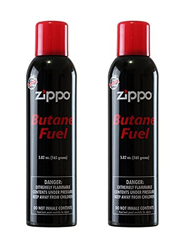 Zippo Butane Fuel 165g 2 Pack