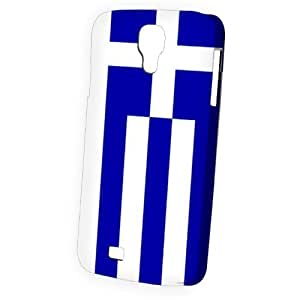 Case Fun Samsung Galaxy S4 (I9500) Case - Vogue Version - 3D Full Wrap - Flag of Greece (World Cup)