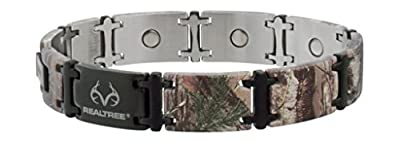 Sabona Men's Realtree Camo Magnum Magnetic Bracelet (Not Available Anymore)
