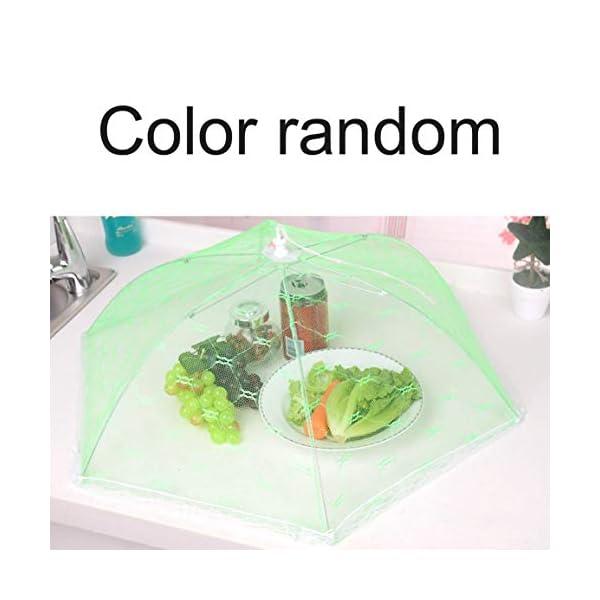 Ombrello Coperchi per alimenti Anti Fly Zanzara Pasto Coperchio Tavolo in pizzo Uso domestico Copertura per alimenti… 2 spesavip
