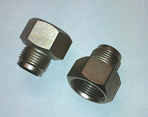 """Gewindeadapter Stickstoff W24 Aussengewinde R1//4/"""" Innengewinde"""