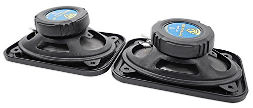 Pair Rockville RV46.3A 4x6'' 3-Way Car Speakers 500 Watts/70 Watts RMS CEA Rated by Rockville (Image #2)