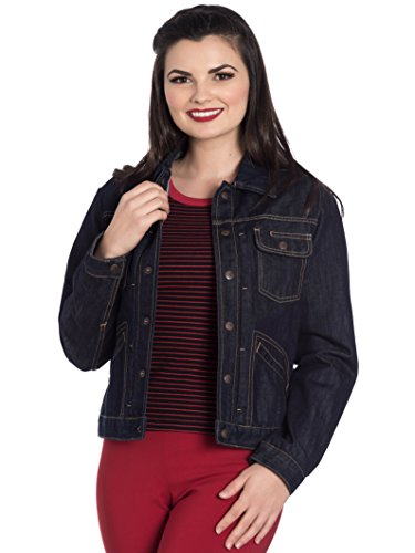Donna Giacca Navy Hell Basic Blu Bunny Lunghe Maniche wTw8qXzB