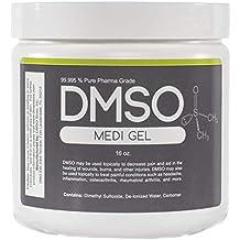 DMSO Dimethyl Sulfoxide 1 Pound Gel BPA Free 99.995% Non Diluted, No Odor Pharma Grade