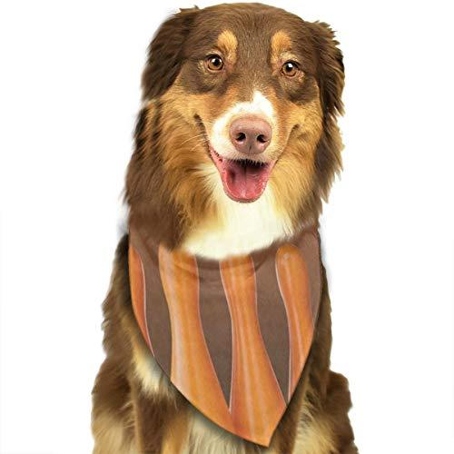 HJudge Dog Bandana Halloween Bowling Dog Scarf Custom Personalized Puppy Bibs ()