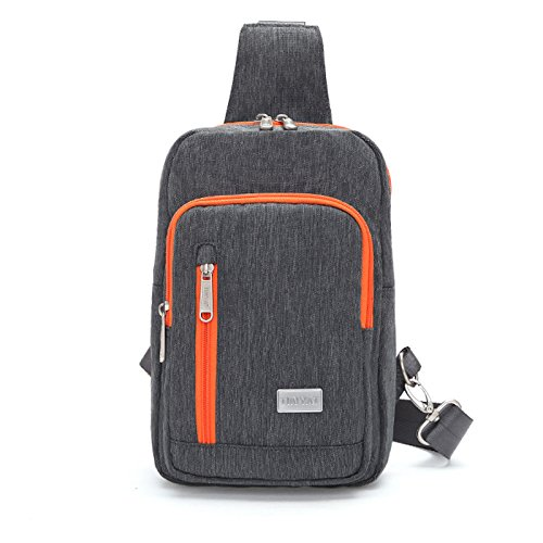 Sac de Poitrine nylon voyage de voyage respirable portable grande capacité hommes dames sacs Messenger Bag Sling bag