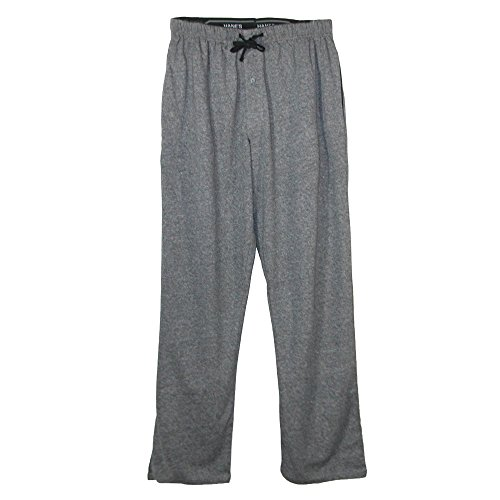 Hanes Men's X Temp Knit Lounge Pajama Pants, Small, New Grey