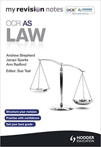 My Revision Notes: OCR AS Law (MRN): Amazon co uk: Andrew