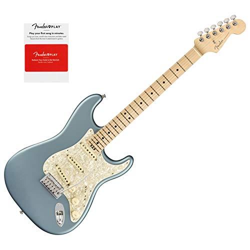 Fender 0114002783 American Elite Stratocaster, Maple Fingerboard, Satin Ice Blue ()
