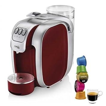 Máquina de café Caffitaly Nautilus S07 roja y 50 Cápsulas café: Amazon.es: Hogar