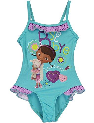 1a086467b0 ... Store Doc McStuffins Deluxe Rashguard Swim Set Swimsuit Extra Small XS  4 4T · Character ...