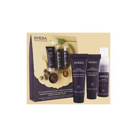 AVEDA Invati Exfoliating Shampoo, Thickening Conditioner, and Scalp Revitalizer Set (Trio); 0.34 Fl. Oz. Each; Sample Size