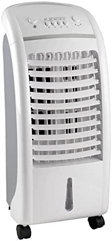 Jocel JCA002105 Climatizador de Aire, 65 W, Plástico, 3 Velocidades, Blanco y Gris: Amazon.es: Hogar