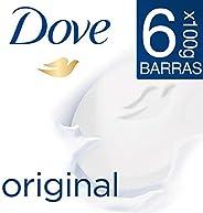 Dove 6pack Dove Jabón Barra Blanca 100g