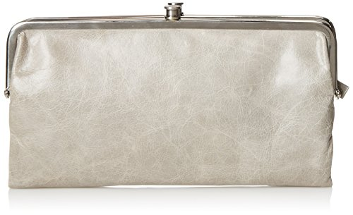 HOBO Vintage Lauren Leather Wallet, Cloud, One Size