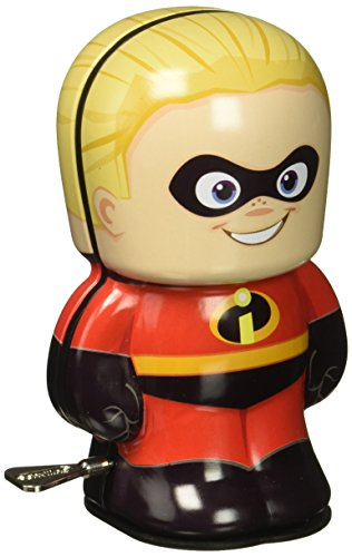 Disney Pixar The Incredibles Dash Bebot Tin Wind Up Action Figure