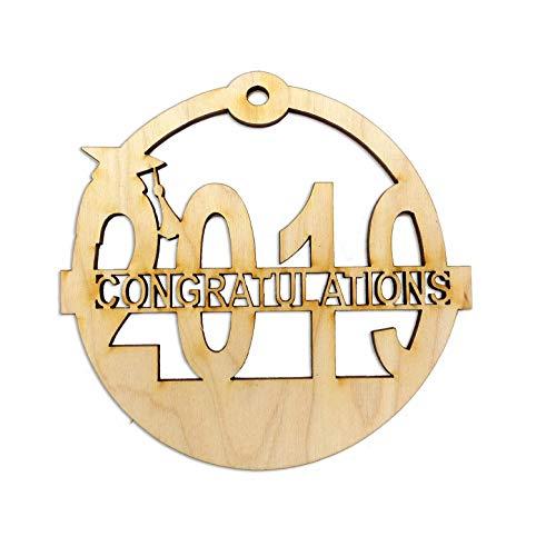 Personalized 2019 Graduation Christmas Ornaments]()