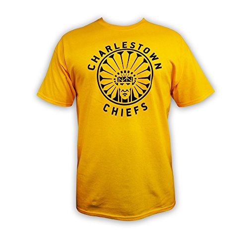 Mad Brothers Officially Licensed Slap Shot Movie Charlestown Chiefs t-Shirt