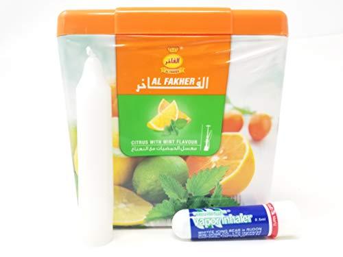 SHOPUS | 1 Kg  Al Fakher Shisha Molasses - Non Tobacco Citrus with