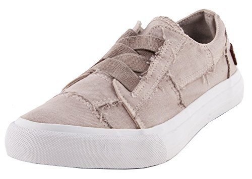 Blowfish Para Mujer Marley Sneaker Light Taupe Color Washed Canvas
