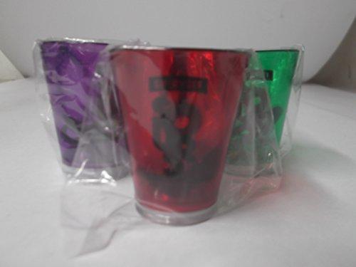Smirnoff Light up Shot Glass Ornament Set (Set of 3)