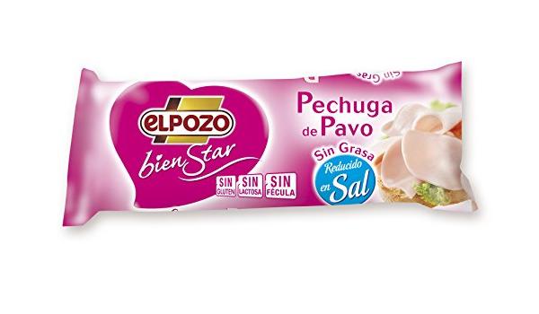 ElPozo Pechuga De Pavo S/G R/SAL - 400 gr: Amazon.es ...
