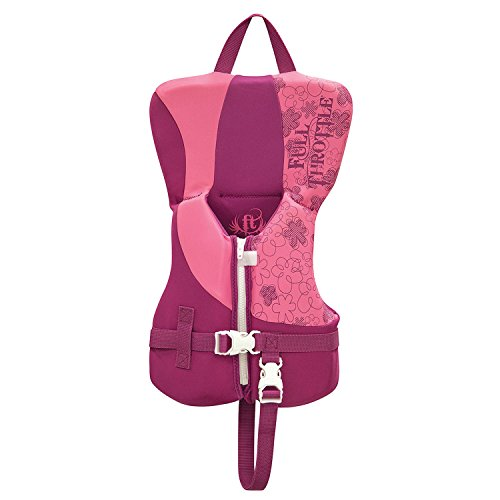 (Full Throttle Unisex-Baby 142100-105-000-16 Rapid-Dry Life Vest-Infant, Pink)
