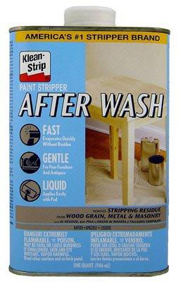Klean-Strip QKSW94341 Paint Stripper After Wash, 1-Quart