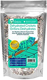 2.4-Ounces (68 g) | Dehydrated Crickets | by Grevio