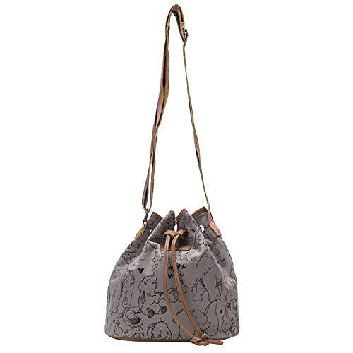 Bag Ladies Dumbo Bucket Codello With Gray qw1axUxO4