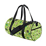 Unisex's Hedgehog Duffel Bag Travel Tote Luggage Bag Gym Sports Gear Drum Set Equipment Travel Luggage Bag