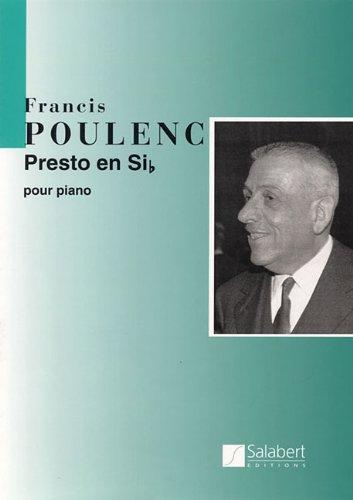 Read Online Presto in B Flat: Piano Solo PDF