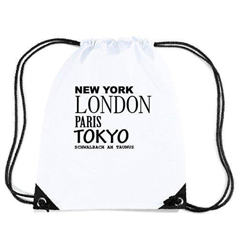 JOllify SCHWALBACH AM TAUNUS Turnbeutel Tasche GYM1912 Design: New York, London, Paris, Tokyo