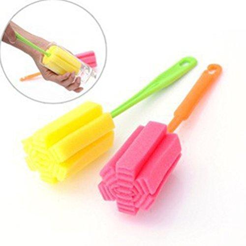 Sponge Cup Brush, Iusun 1 PCS Kitchen Cleaning Tool Sponge B