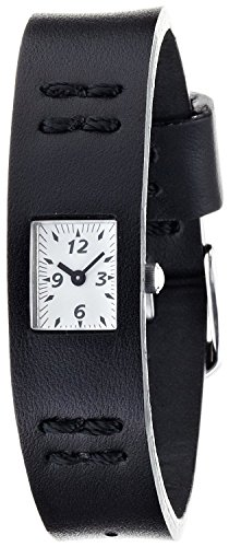 cabane-de-zucca-watch-chewing-gum-leather-version-chewing-gum-lv-awgk019-ladies-black