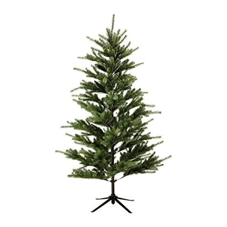 ikea artificial plant christmas tree 61 with 39 piece hanging ornament set