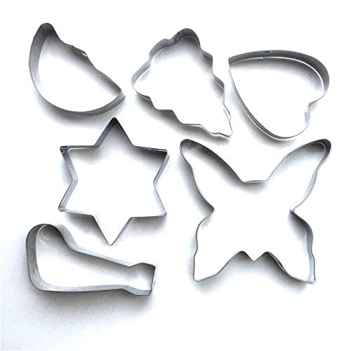 Halloween& Christmas Metal Cookie Cutter Decorating Mold Kitchen Stainless Steel Bakeware Tools Kitchen Baking (ST719) -