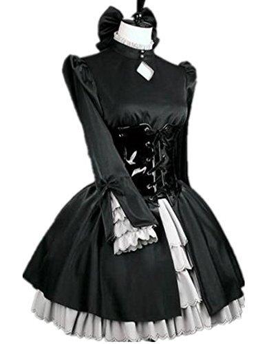 コスプレ衣装☆フェイト+Fate+HAセイバーオルタ風黒ドレス