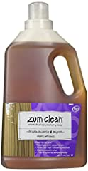 No Synthetic Foaming Agents, Chemicals And Artificial Stuff. Instead, Zum Clean Uses Coconut Oil, Baking Soda, Vegetable Glycerin, Natural Borax And 100% Pure Essential Oils. Low-Sudsing, Highly Concentrated, And Great For High-Efficiency Mac...