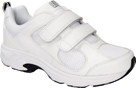 Drew Shoe Women's Flash II V Sneakers B00ABNVH8U 5 B(M) US|White Leather/White Mesh