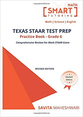 Texas STAAR Test Prep Practice Book Grade 6 Largest Number