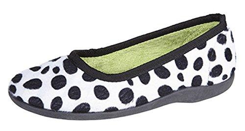 SleepersAva - Zapatillas Bajas mujer negro/blanco