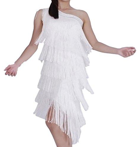 Womens Ballroom Salsa Samba Rumba Tango Swing Rhythm Latin Dance Dress (Sexy Ballroom Dress)