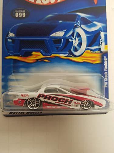 (Pro Stock Firebird Hot Wheels 2001 diecast 1/64 scale car No. 099)