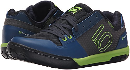 Five Ten MTB-Schuhe Freerider Contact Solar Grün/Night Shade Blau